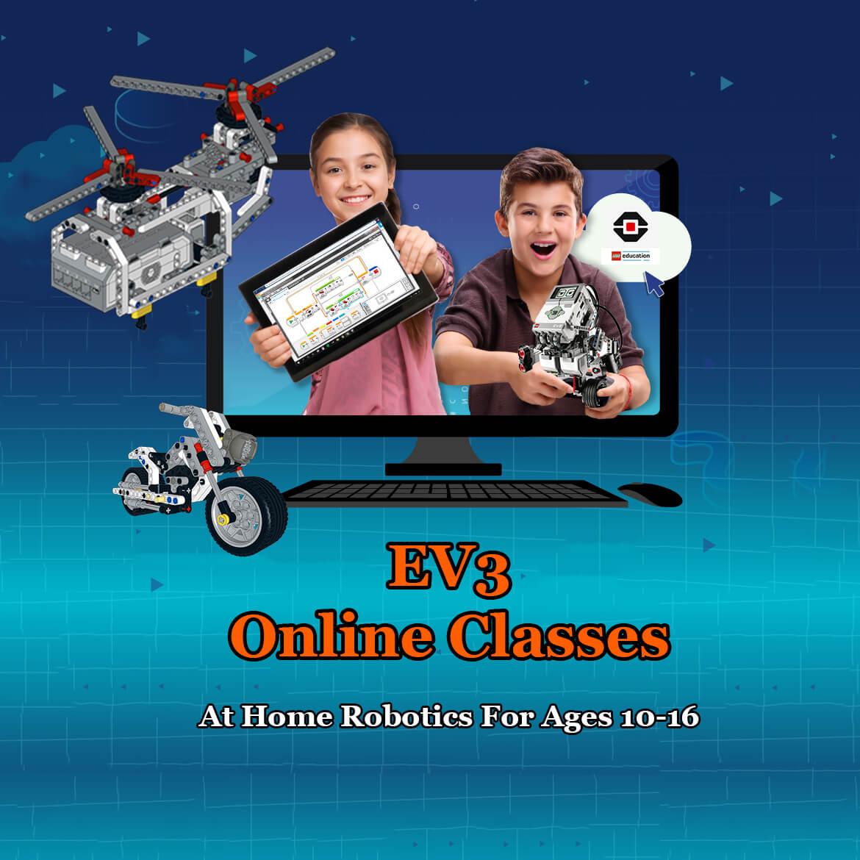 EV3 Online Robotics and Coding Classes