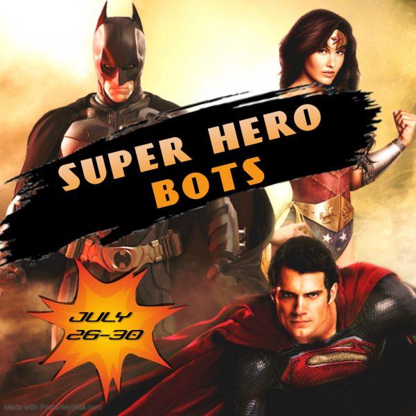 Super Hero robotics camp